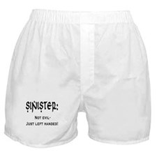 Sinister: Not evil-Just left handed Boxer Shorts