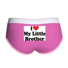 Funny Little sisters Women's Boy Brief