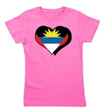 Cute Antigua and barbuda Girl's Tee