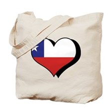 I Love Chile Tote Bag