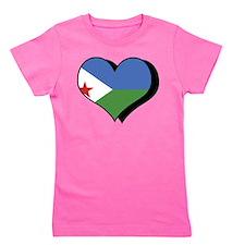 I Love Djibouti Girl's Tee