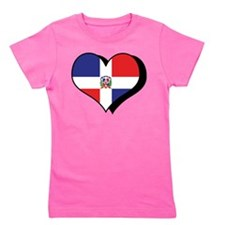 Cute I love dominican republic Girl's Tee