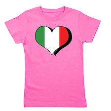I Love Italy Girl's Tee