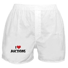 I Love Auctions 2 Boxer Shorts