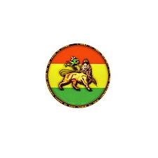 Lion of Judah Round Mini Button