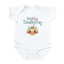 Babys 1st Thanksgiving Body Suit