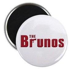 "The Bruno family 2.25"" Magnet (100 pack)"