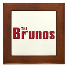 The Bruno family Framed Tile