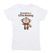 Grandmas Little Monkey Girl's Tee