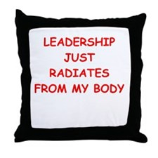 leadership Throw Pillow