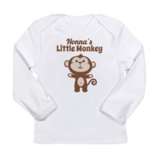Nonnas Little Monkey Long Sleeve T-Shirt