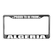 Algeria License Plate Frame