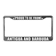 Antigua and Barbuda License Plate Frame