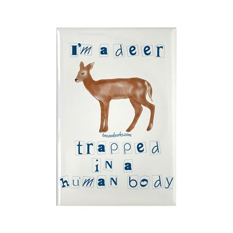 I'm a Deer Rectangle Magnet (10 pack)
