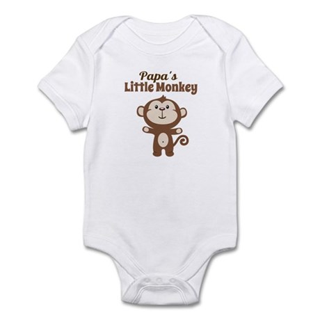 Papas Little Monkey Body Suit