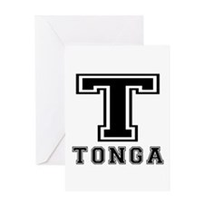 Tonga Designs Greeting Card