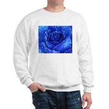 Blue Rose Sweatshirt