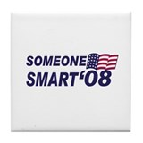 Someone Smart '08! Tile Coaster