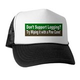 Anti Environmentalist Conservative Trucker Hat