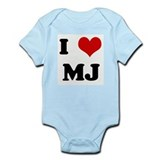 I Love MJ Infant Bodysuit