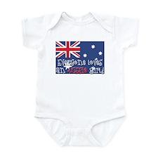 Aussie Girl Infant Bodysuit