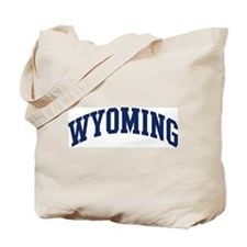 Blue Classic Wyoming Tote Bag