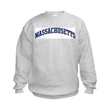 Blue Classic Massachusetts Sweatshirt