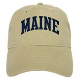 Blue Classic Maine Baseball Cap