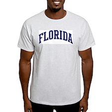 Blue Classic Florida Ash Grey T-Shirt