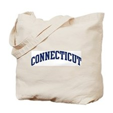 Blue Classic Connecticut Tote Bag