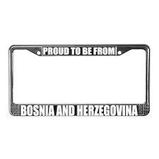 BOSNIA AND HERZEGOVINA License Plate Frame