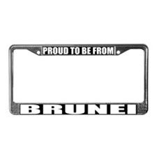 Brunei License Plate Frame