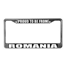 Romania License Plate Frame