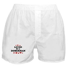 Loved: Doberman Boxer Shorts