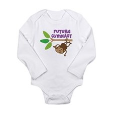 Future Gymnast Long Sleeve Infant Bodysuit