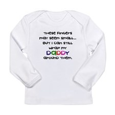 daddy_wrapped_fingers Long Sleeve T-Shirt