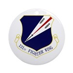 131st FW Ornament (Round)