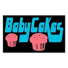 Babycakes Rectangle Decal