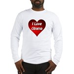I Love Obama 2012 Long Sleeve T-Shirt