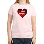 I Love Obama 2012 Women's Light T-Shirt