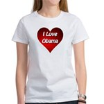 I Love Obama 2012 Women's T-Shirt