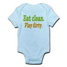 Eat clean. Play dirty. Body Suit