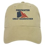 Firefighter GREAT GRANDFATHER Baseball Cap