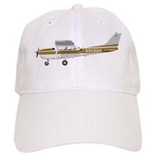 Cessna 172 Skyhawk Brown Baseball Cap