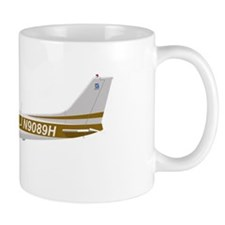 Cessna 172 Skyhawk Brown Mug