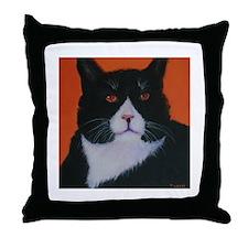 Sir Walter Orange Throw Pillow