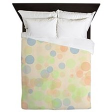 Pastel Dots Queen Duvet