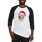 Yellow Labrador Christmas Baseball Jerse