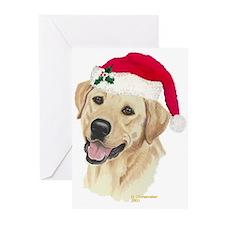 Yellow Labrador Christmas Cards (6)