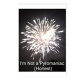 I'm not a pyromanic (honest) Postcards (Package of